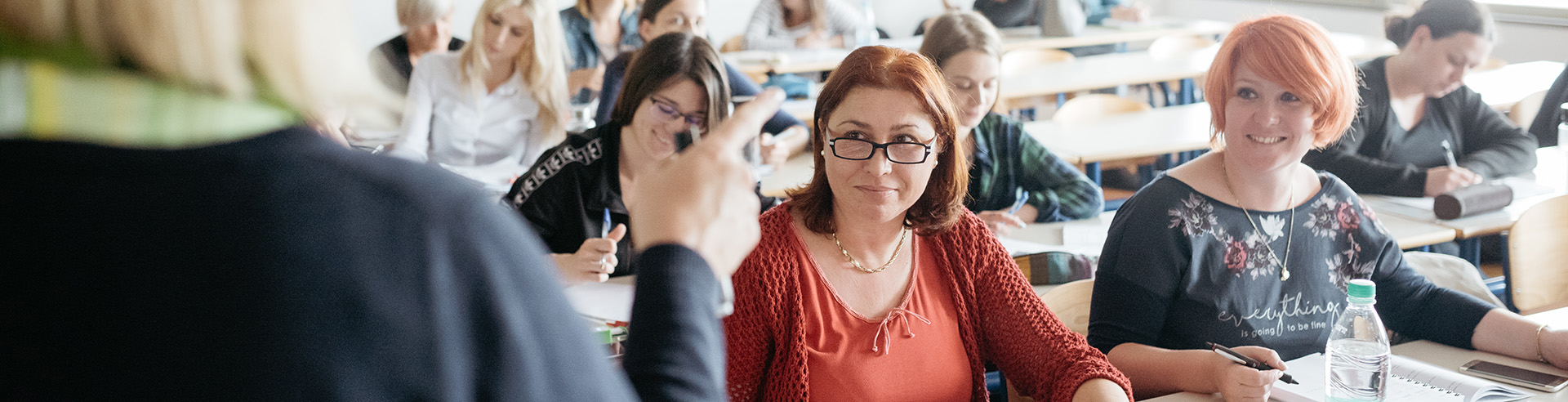 Študenti Vodenja in kakovosti v izobraževanju
